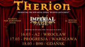 Bilety na koncerty Therion + Imperial Age, Null Positive