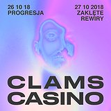 Bilety na koncerty: Clams Casino!