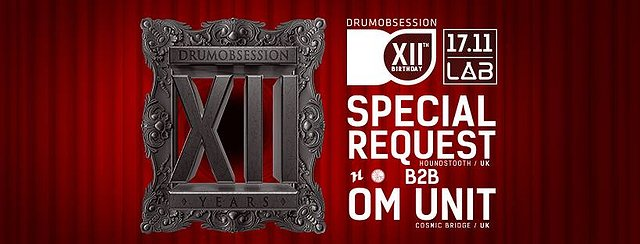 DrumObsession 12th Birthday
