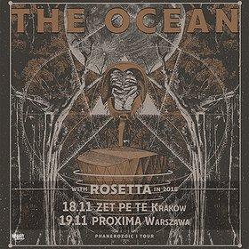 Koncerty: THE OCEAN + ROSETTA - Warszawa