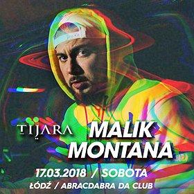 Koncerty: Malik Montana - Łódź
