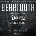Koncerty: Beartooth, Poznań