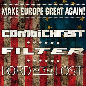 Koncerty: COMBICHRIST, FILTER, LORD OF THE LOST