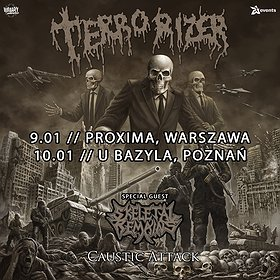 "Imprezy: TERRORIZER ""Caustic Attack European Tour"" + Skeletal Remains - Warszawa"