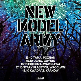 Koncerty: New Model Army - Poznań