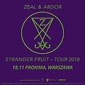 Koncerty: Zeal & Ardor, Warszawa