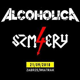 Koncerty: ALCOHOLICA + 4 SZMERY + EVENT URIZEN