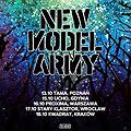 Koncerty: New Model Army - Warszawa, Warszawa