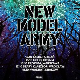 Concerts: New Model Army - Kraków