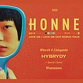 Koncerty: Honne, Warszawa