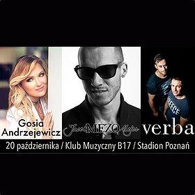 Koncerty: Gosia Andrzejewicz / Mezo / Verba