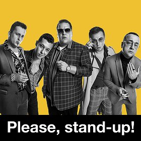 Stand-up : Please, stand-up! Wrocław