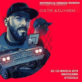 Hip Hop / Reggae: O.S.T.R. & DJ HAEM (23.03)