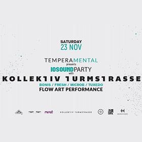 Muzyka klubowa: Temperamental presents IOSound party w/ Kollektiv Turmstrasse
