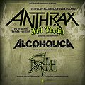 Koncerty: NEIL TURBIN (voc ANTHRAX), Alcoholica, Death Revival, Zabrze