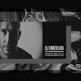 Geschichte: Dj Emerson (CLR / Micro.fon) / Berlin