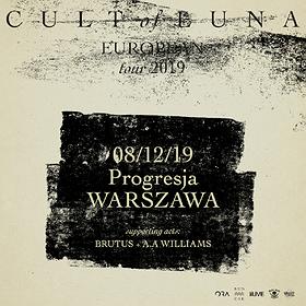 Cult Of Luna + Brutus, A.A. Williams