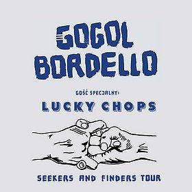 Bilety na Gogol Bordello, Gość specjalny: Lucky Chops