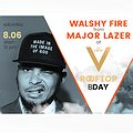Imprezy: Walshy Fire from MAJOR LAZER at The View 4th Birthday with Moet!, Warszawa