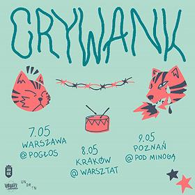 Koncerty: Crywank
