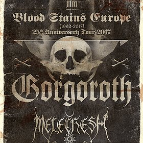Koncerty: Gorgoroth & Melechesh - BLOOD STAINS EUROPE 1992-2017 TOUR