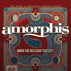 Koncerty: Amorphis - Under The Red Cloud Tour 2017