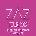Koncerty: ZAZ - Warszawa, Warszawa