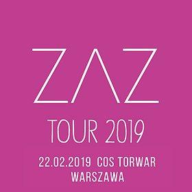 Bilety na ZAZ - Warszawa