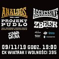 Hard Rock / Metal: The Analogs, Aggressive, Zbeer, Zimna Wojna , Zabrze