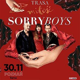 Bilety na Sorry Boys - Trasa Miłość - Poznań