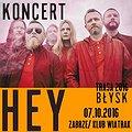 """Koncerty: HEY, Trasa promująca płytę """"BŁYSK"""", Zabrze"""