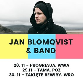 Koncerty: Jan Blomqvist & Band - Poznań