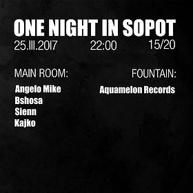 Imprezy: One Night In Sopot - Angelo Mike | bshosa