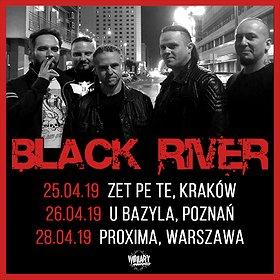 Koncerty: BLACK RIVER - Kraków