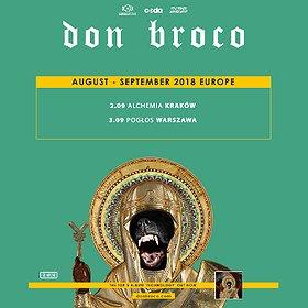 Koncerty: Don Broco - Warszawa