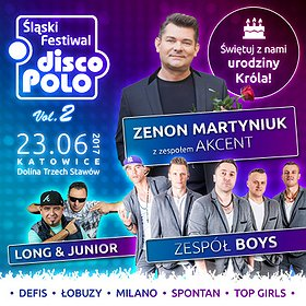 Koncerty: Śląski Festiwal Disco Polo