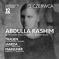 Events: Abdulla Rashim (Northern Electronics / Sztokholm), Wrocław