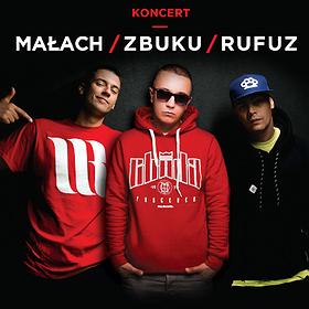 Hip Hop / Reggae: Koncert Zbuku/Małach/Rufuz Białystok