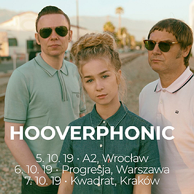 Pop / Rock: Hooverphonic - Wrocław