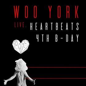 Imprezy: HeartBeats 4th b-day: Woo York live