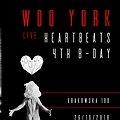 Events: HeartBeats 4th b-day: Woo York live, Wrocław