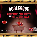 Burlesque #9 / Red Juliette / Kim Lee Drag Queen / Pin Up Candy