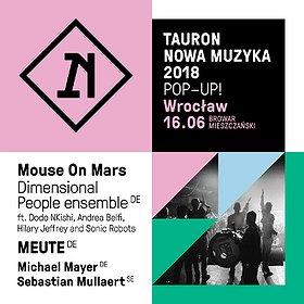 Muzyka klubowa: Tauron Nowa Muzyka Pop-Up!