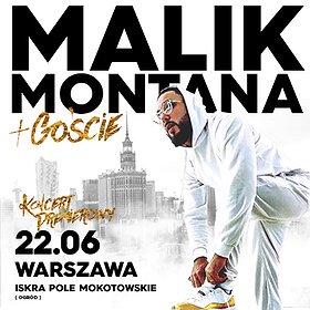 Koncerty: Malik Montana - Warszawa