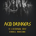 Koncerty: Acid Drinkers - In Thrash We Trust, Warszawa