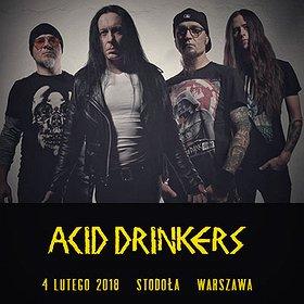 Koncerty: Acid Drinkers - In Thrash We Trust