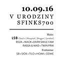 Imprezy: V Urodziny Klubu Sfinks700 - Drum & Bass Edition - LSB (UK), Sopot