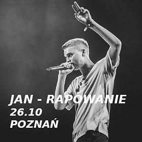 Hip Hop / Reggae: Jan - rapowanie / 26.10 / Poznań
