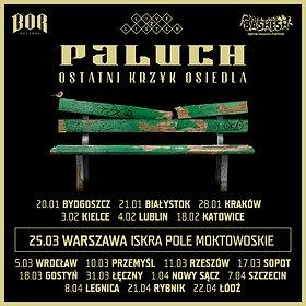 Koncerty: Paluch, Ostatni Krzyk Osiedla, Warszawa