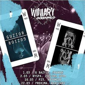 Koncerty: Guzior + ReTo / 22.03 / Warszawa